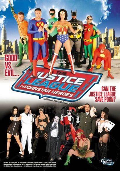 The Justice League of pornstar heroes