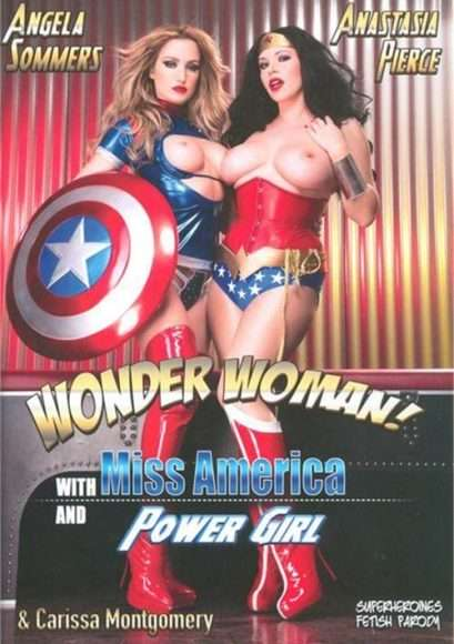 wonder woman with miss america and power girl porno