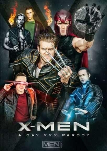 parodie porno gay de X-Men