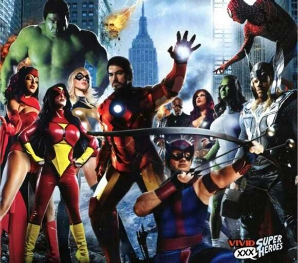 Avengers parodie porno