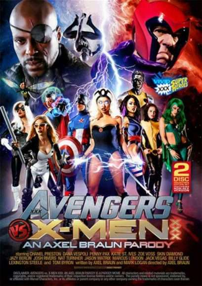 avengers vs x-men xxx