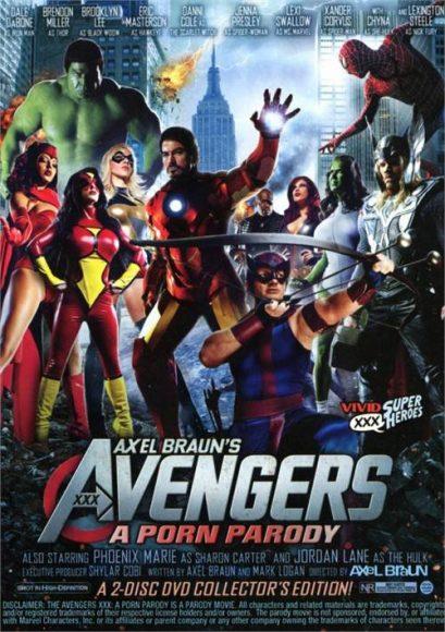 parodie porno Avengers XXX