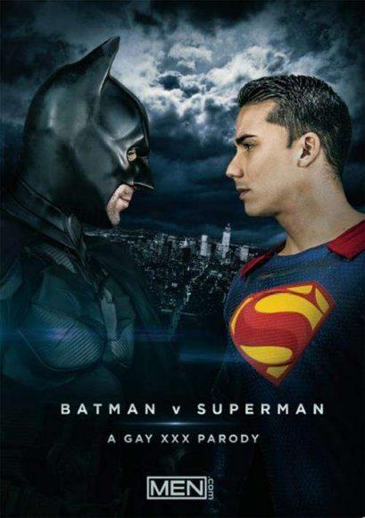 Batman vs Superman : a gay XXX parody
