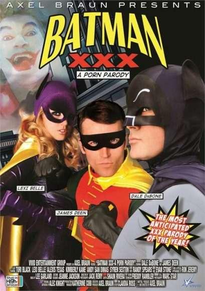 batman xxx : parodie porno de batman