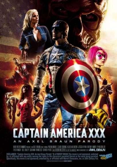 captain america xxx