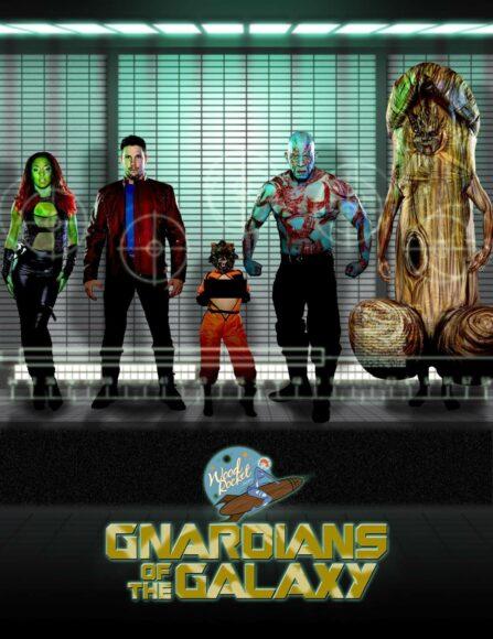 gnardians of the galaxy - parodie porno Marvel