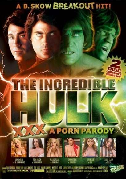 The Incredible Hulk XXX : parodie porno de Hulk