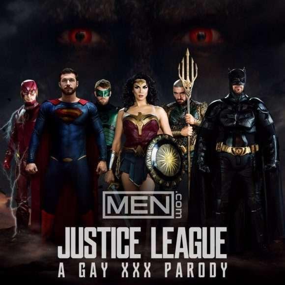 Justice League : a gay XXX parody