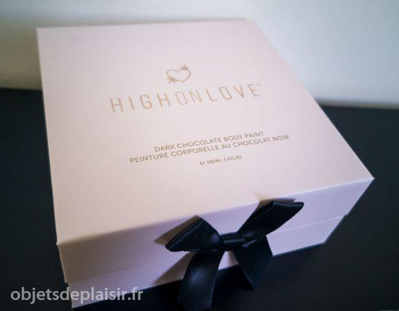 le coffret de peinture corporelle au chocolat HighOnLove