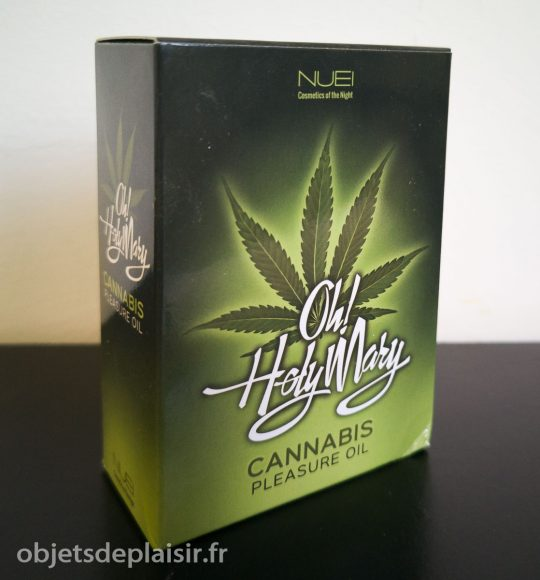 huile pour le clito Oh ! Holy Mary Cannabis