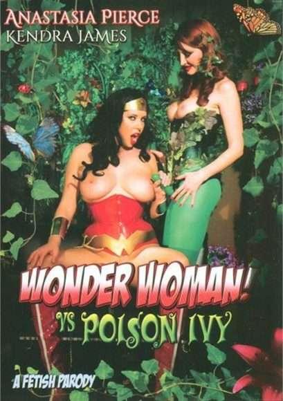Wonder Woman vs Poison Ivy : parodie porno