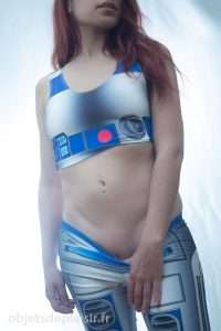 photo sexy cosplay R2D2