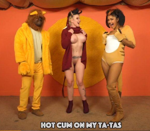 hot cum on my ta-tas