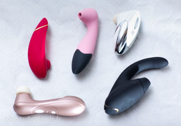 Vibros aspirants Womanizer et Satisfyer