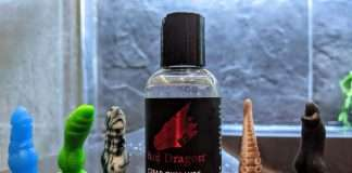 Clear Cum Lube Bad Dragon