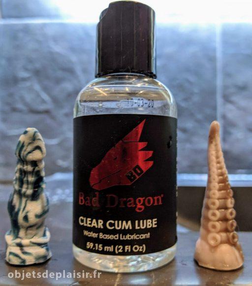 Lubrifiant Clear Cum Lube Bad Dragon