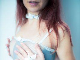 lingerie grise - photos sexy