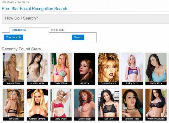 Hotmovies - recherche de porno par reconnaissance faciale