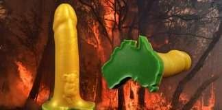 Un sextoy en soutien à l'Australie