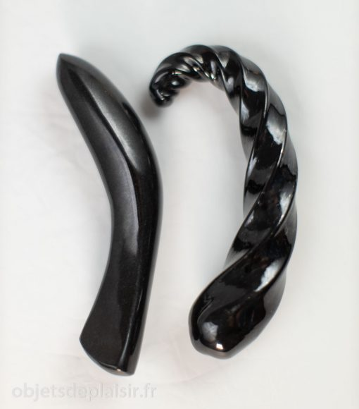 Les godes Laid D2 et Corkscrew de Fucking Sculptures