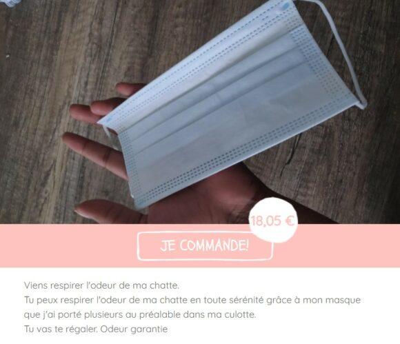 Masque Parfum cCulotte - Vends Ta Culotte