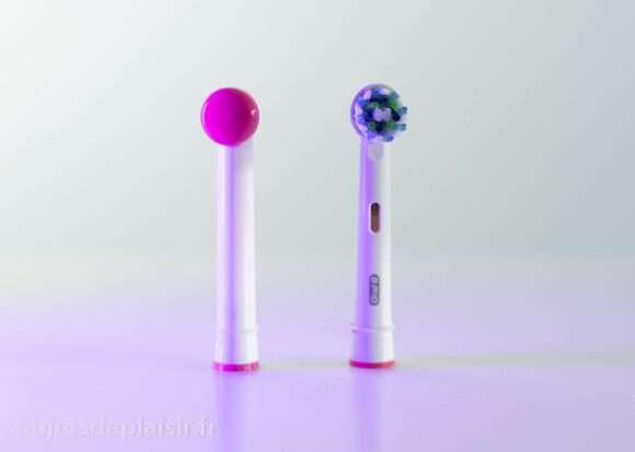Tingletip vs embout classique de brosse à dents