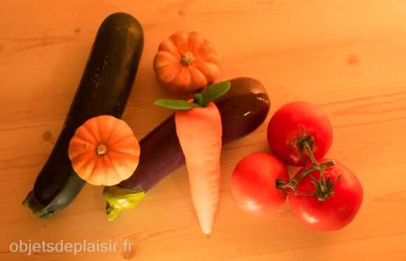 Sextoys légumes et vrais légumes