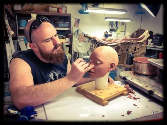 Michael Wilson, love doll creator at RealDoll