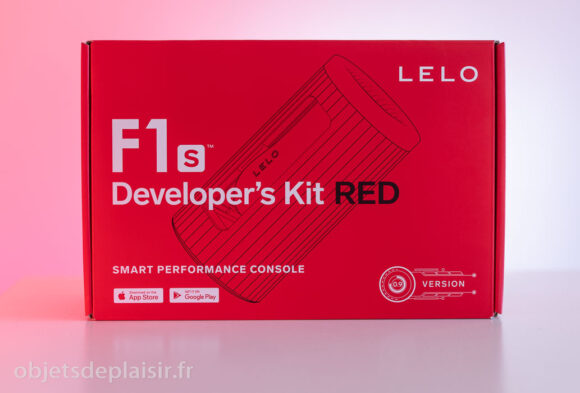 Packaging du Lelo F1s