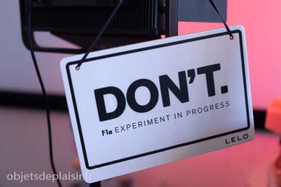 Don't. F1s experiment in progress