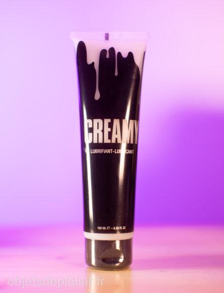 Creamy : un lubrifiant façon faux sperme