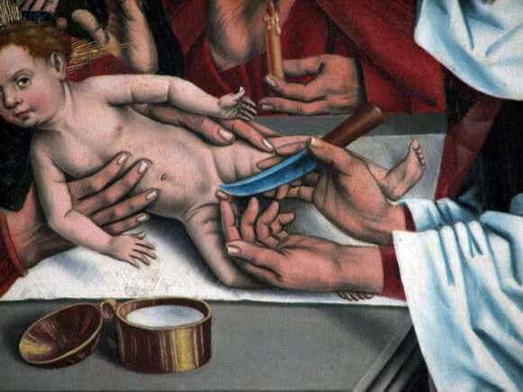 La circoncision de Jésus, l'origine du Saint Prépuce